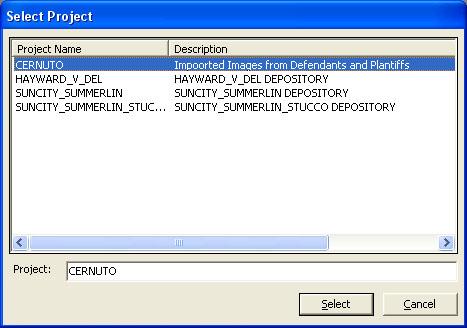 SelectProject