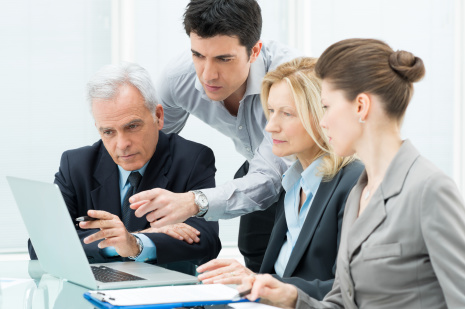 group of trial presentationservice professionals
